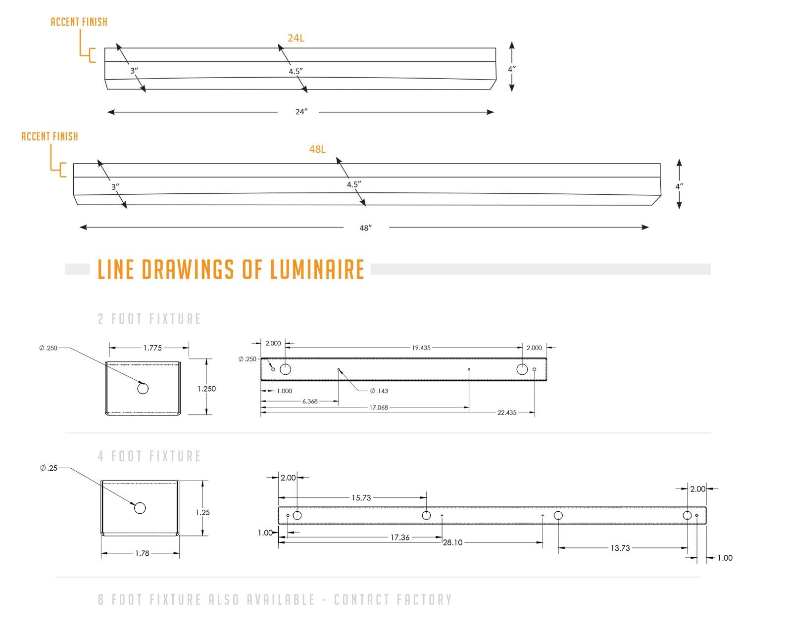 Canoe - Linear Surface - Chameleon Lighting