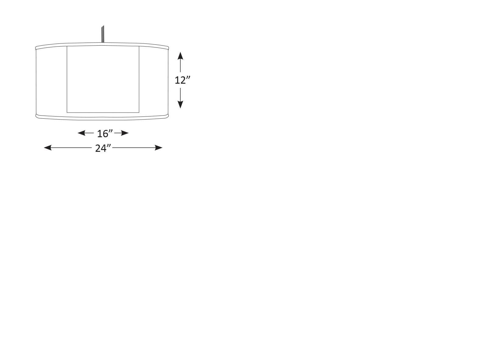 shadow box drum downlight pendant chameleon lighting. Black Bedroom Furniture Sets. Home Design Ideas